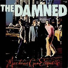 "#The Damned"" Machine Gun Etiquette"" Vinyl - Madcap Music and More.com  #  $28.95"