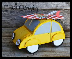 Pink Buckaroo Designs: Summer Fun Project Planner- Slug Bug Candy Holder! http://pinkbuckaroodesigns.blogspot.com/2014/06/summer-fun-project-planner-slug-bug.html