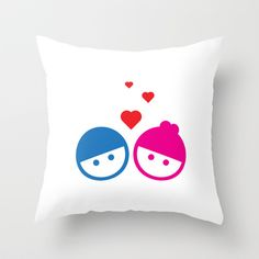 #Love Throw Pillow by DesignNex - $20.00