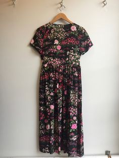 No. 6 Maeve Dress in Black English Garden | Eugene Choo