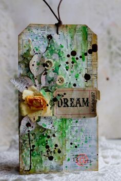 13 Arts - Spring tag and tutorial with Frau_Muller; Jan 2014