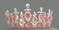 The tiara of Princess Ashraf Pahlavi - The last Shah of Iran's twin sister.
