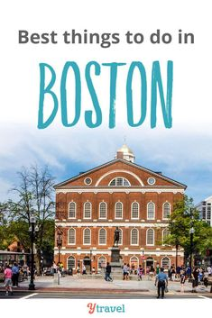 Planning to visit Boston? Here are 17 of the best things to do in Boston, including tips on restaurants and must try food in Boston, hotels places to stay in Boston, and much more. Ideas for downtown historical tours, local attractions, and activities you don't want to miss on your USA East Coast vacation. Don't take a Boston vacation before reading this Boston travel tips guide! #travel #Boston #Massachusetts #familytravel #vacation #traveltips #traveling