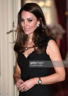 News Photo : Catherine, Duchess of Cambridge attend a...
