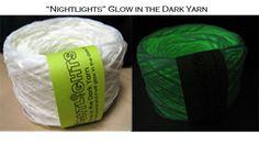 Nightlights Glow in the Dark Yarn at Woolstock Yarn shop
