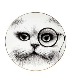 Monocle Cheshire Cat Perfect Plate, Rory Dobner. Shop more from the Rory Dobner collection at Liberty.co.uk