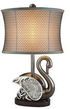 Astoria Grand Flemming H Table Lamp Stained Glass Table Lamps, Torchiere Lamp, Table Lamp Sets, Diffused Light, Drum Shade, Desk Lamp, Bulb, Interior, Elegant Designs
