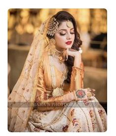 A Guide To Bridesmaids Dresses. Picking bridesmaids gowns is no simple job, but it is among the most interesting and typically the most emotional parts of the wedding planning proc Pakistani Bridal Hairstyles, Pakistani Bridal Makeup, Bridal Mehndi Dresses, Indian Bridal Outfits, Pakistani Wedding Outfits, Bridal Dress Design, Wedding Lehnga, Nikkah Dress, Shadi Dresses