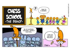 CHESS SCHOOL - The Bishop