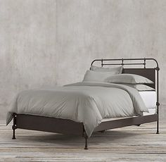 RH's Metal & Woven Beds:Those who view the bedroom as an extension of living space will love Restoration Hardware's collection of beds. We feature a variety of beautiful headboards and sleigh beds perfect for reading and relaxation.