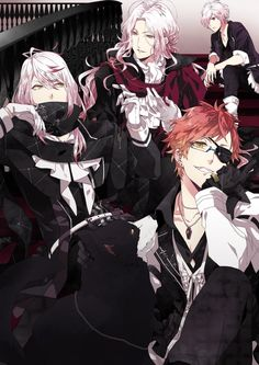 Image discovered by キルラキル. Find images and videos about anime, vampire and diabolik lovers on We Heart It - the app to get lost in what you love. Anime Love, Anime Guys, Manga Anime, Anime Art, Vampire Boy, Vampire Knight, Yuma Diabolik Lovers, Carla Tsukinami, Diabolik Lovers Wallpaper