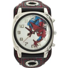 Marvel spiderman digital flip wrist watch wrist watches pinterest for Spiderman watches