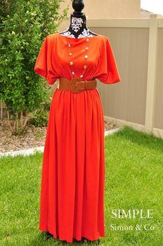 Effortless Caftan Dress | AllFreeSewing.com