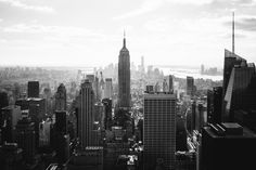 Manhattan from the Top of The Rock