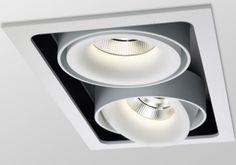 Office Lighting, Interior Lighting, Interior Styling, Interior Design, Delta Light, Ceiling Mounted Light, Ceiling Lights, Light Fittings, Light Fixtures
