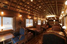 image:JR九州、クルーズトレイン「ななつ星 in 九州」運行開始 - 車内の写真公開