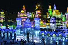Harbin ice sculpture festival