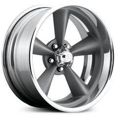 New 2015 U.S. Mags Standard U204 custom wheels, matte gunmetal textured rims.