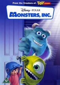 Boo, Sully, and Mike Wazowski