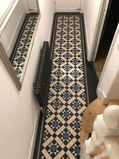 10 Victorian Kitchen Floor Ideas Victorian Kitchen Floor Ideas - 47 victorian small hallway floor ideas in 2019 Victorian kitchen floor red and black quarry 50 Cozy Victorian Small Ha. Victorian Terrace Hallway, Edwardian Hallway, Victorian Terrace Interior, Victorian Kitchen, Victorian Houses, Victorian Front Garden, Victorian Porch, Victorian Living Room, Hall Tiles