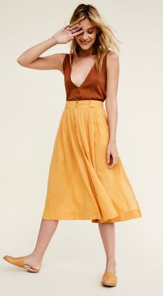 This that skirt - perfect for summer!