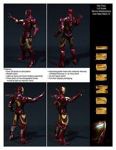 Hot Toys Movie Masterpiece Iron Man Mark III by ETDS1, via Flickr