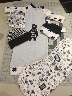 Patterns for Pirates Newborn set by nest fabrics and fabric by Dear Stella Patterns For Pirates, Grandkids, Bikinis, Swimwear, Nest, Sewing Patterns, Fabrics, Baby, Fashion