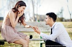 If you are thinking of popping the question and proposing marriage, here are ideas on how, when, and where to propose marriage. The key things to remember are to keep the marriage proposal simple and private. Whatsapp Videos, Pre Marriage Counseling, Premarital Counseling, Pre Marital Counseling Questions, Dating Questions, Couple Questions, Wedding Proposals, Marriage Proposals, Couple Photography