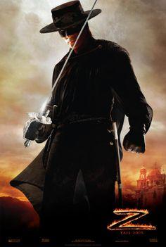"Antonio Banderas in ""The Legend of Zorro"" Zorro Movie, Movie Stars, Movie Tv, Men In Black, Charlie Sheen, Jonathan Pryce, Tarzan, A Mascara Do Zorro, O Maskara"