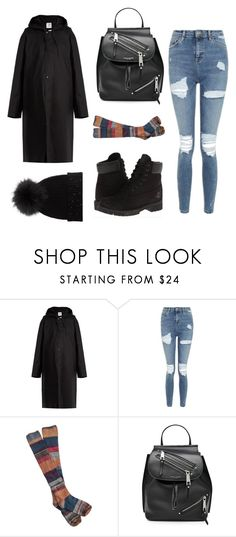"""Vetements"" by fashionlarry ❤ liked on Polyvore featuring Vetements, Topshop, Timberland, Free People, Marc Jacobs and M. Miller"