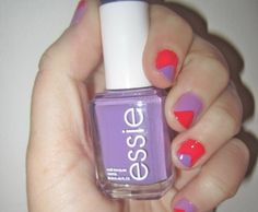 How-To: Color Block Manicure #Tutorial