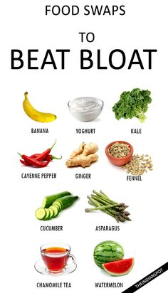 BEST FOODS TO FIGHT BLOATING
