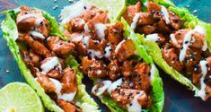 Low Carb Mozzarella Wrap - ONLY 2 ingredients! The wrap replacement - Rezepte diät - Salat Teriyaki Chicken, Original Cheesecake Recipe, Zucchini Lasagne, Strawberry Swirl Cheesecake, Salad Wraps, Big Mac, Chicken Wraps, Feta, Low Carb Recipes