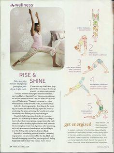 fit, morning yoga, rise, inspir, exercis, shine, healthi life, mornings, morn yoga