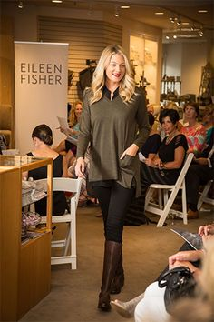EILEEN FISHER Tipster Fashion Show | Latest News | Upper Nav | Puritan Cape Cod
