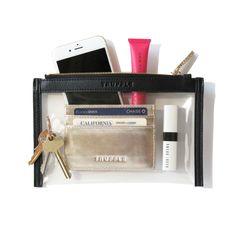 Clarity Clutch Mini + Card Case Duo (Truffle)