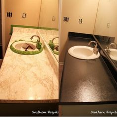 Charmant Countertop Redo  Easy And Any Color You Choose!