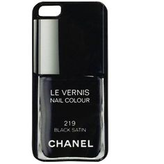 iCoverLover Chanel Black Satin iPhone 5 Case