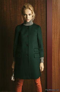 coat, turtleneck, pants, look