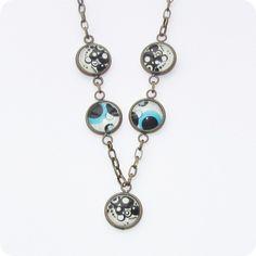 Circles... Circles, Pendant Necklace, Drop Earrings, Jewelry, Jewlery, Jewerly, Schmuck, Drop Earring, Jewels