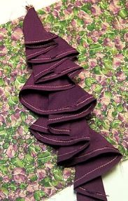 Tutorial: How to sew cascading ruffles or flounces
