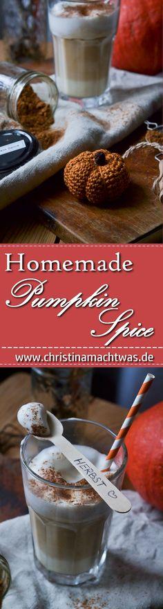 Pumpkin Spice ist überall drin im Herbst und hier gibt's mein Rezept für ein super günstiges hausgemachtes Pumpkinspice / Kürbisgewürz. Starbucks kann einpacken. _________________________ It's super easy to make your own Pumpkin Spice.