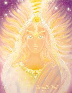 Brigitte-Jost Engel der Reinheit und Erneuerung Aylaa