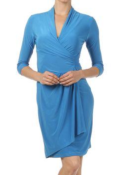 Laurel Wrap Dress
