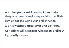 Free Will, Take responsibility ! Broken Wings, Islamic Quotes, No Response, Poems, Sayings, Free, Lyrics, Poetry, A Poem