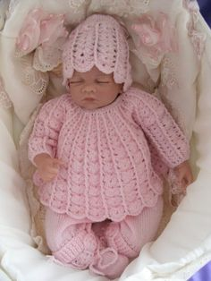 Newborn Baby Take Home Outfit Angel Top by Meganknits4charity, £25.00