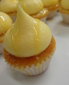 Mango, pineapple and passion fruit cupcakes, oh my!