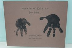 diy fathers day gifts from baby | think handmade gifts are one of the most unique and special gifts ...