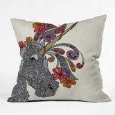 Found it at AllModern - Valentina Ramos Unicornucopia Polyester Throw Pillow