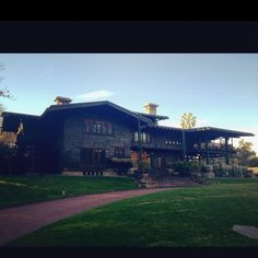 "The Gamble House as seen in ""Back To The Future"" as Doc Brown's house!"